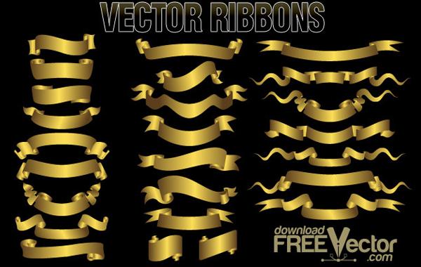 Heraldic Vector Ribbons