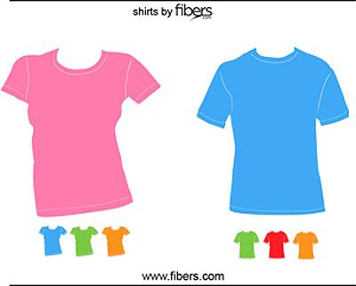 Tshirt Templates Vector