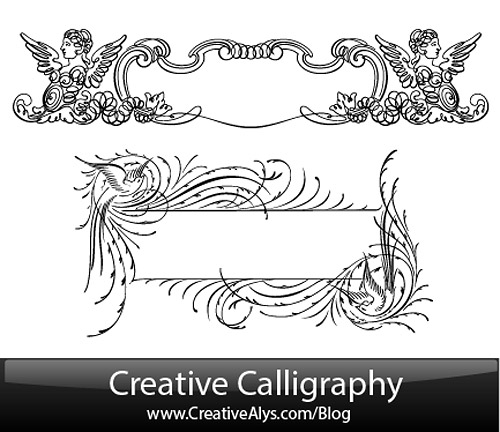 Calligraphy Design Vector