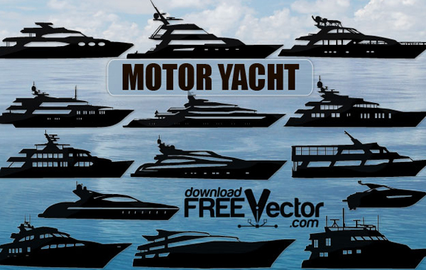 Yacht Design Vector
