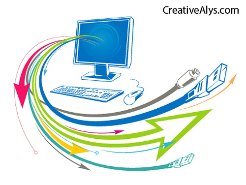 Technology Art Vector