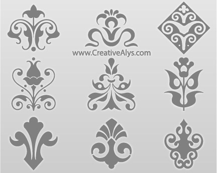 Beautiful Floral Collection Vector