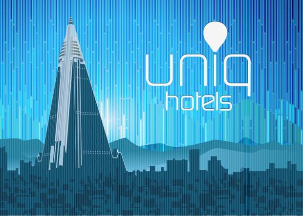 Hotel Uniq Vector