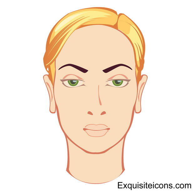 Blonde Face Vector