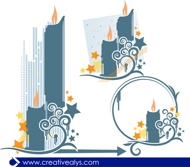 candle-design-vector.jpg Candle Design Vector