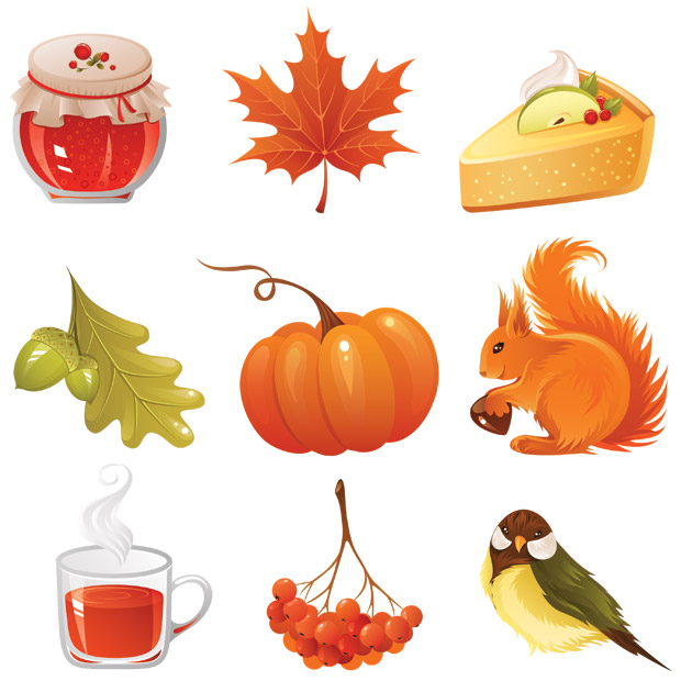 Colorful Autumn Vector