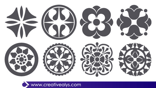 black-and-white-floral-vector.jpg Black and White Floral Vector
