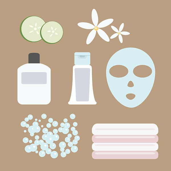 facial spa icons